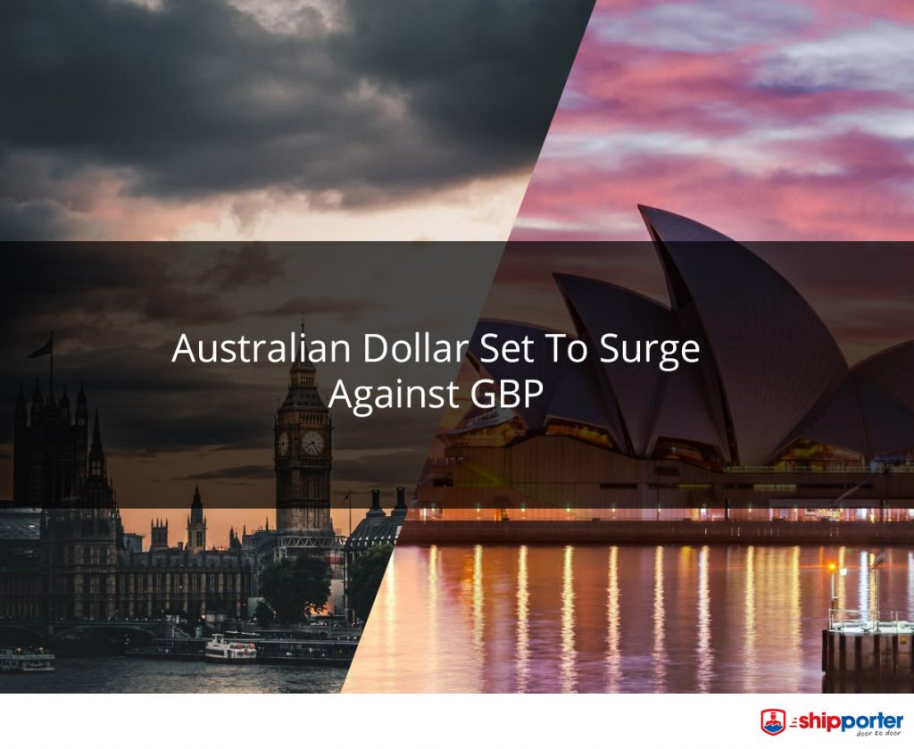 Shipporter - AUD to Surge Against GBP