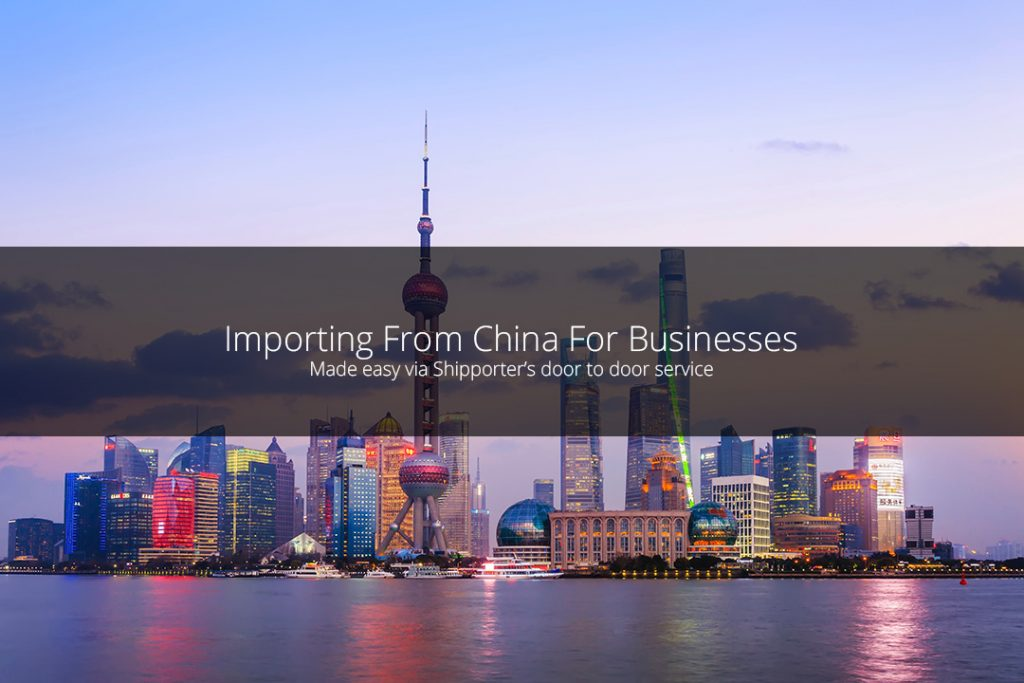 Importing from China for Businesses
